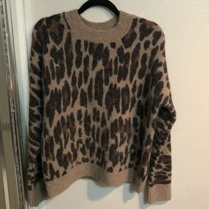 Rails Leopard Sweater